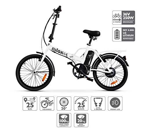 Nilox ebike X1- Bicicleta...