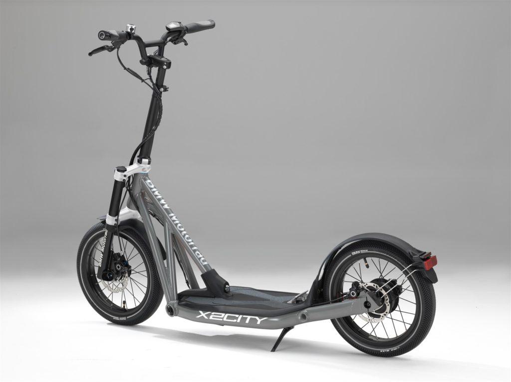 BMW Motorrad X2City parte trasera