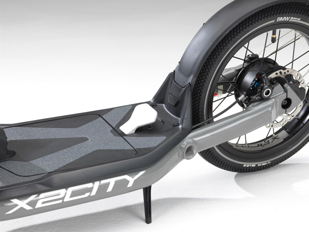 BMW Motorrad X2City zona trasera
