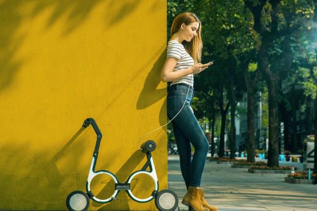 Smacircle S1, la bicicleta eléctrica plegable más pequeña 8