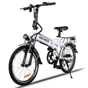 La Bicicleta Eléctrica Ancheer plegable 1