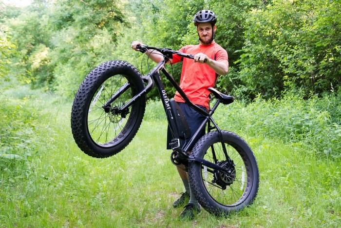 Nueva bicicleta Defiant Fat e-bike, ¡Es impresionante! 2