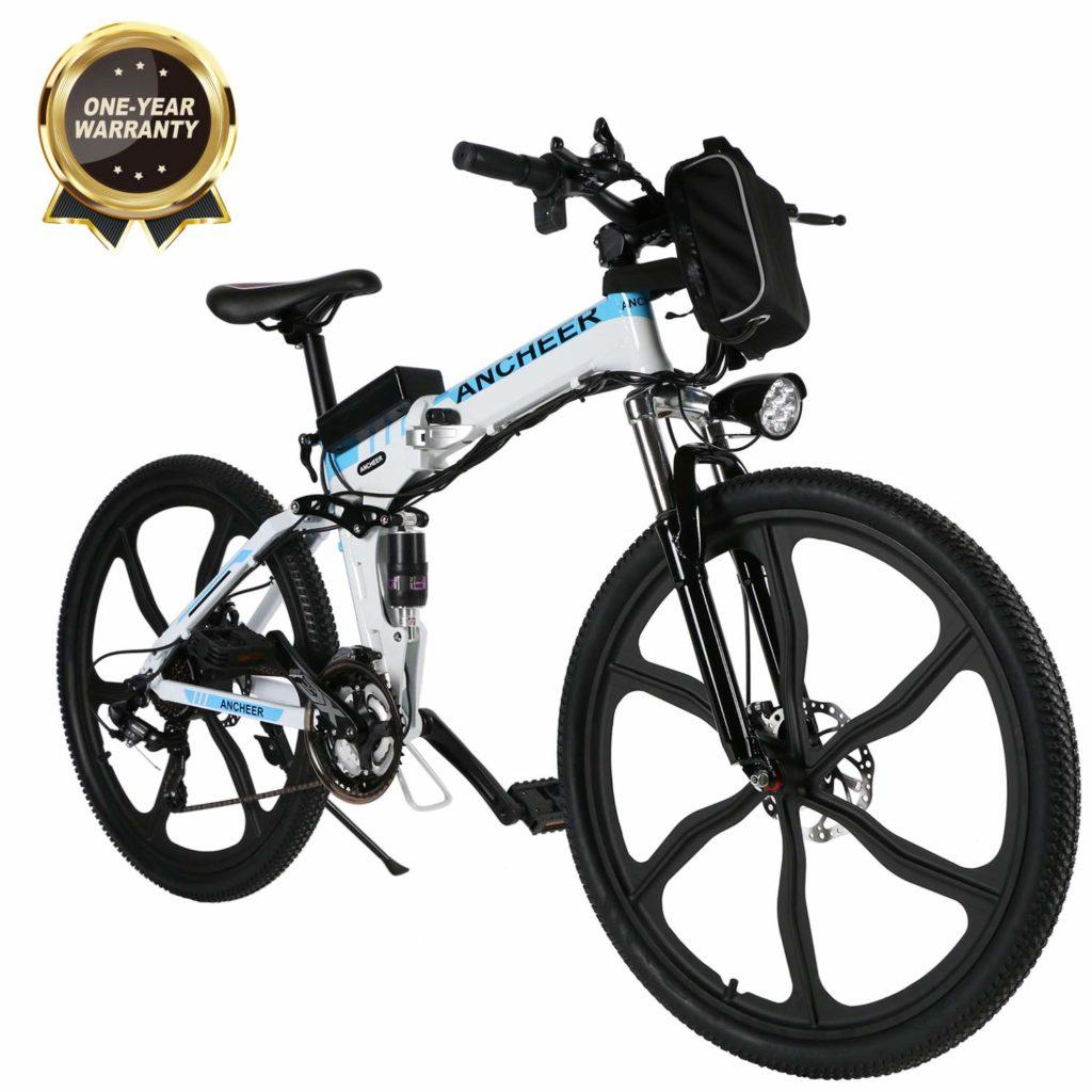 bicicleta electrica plegable montaña